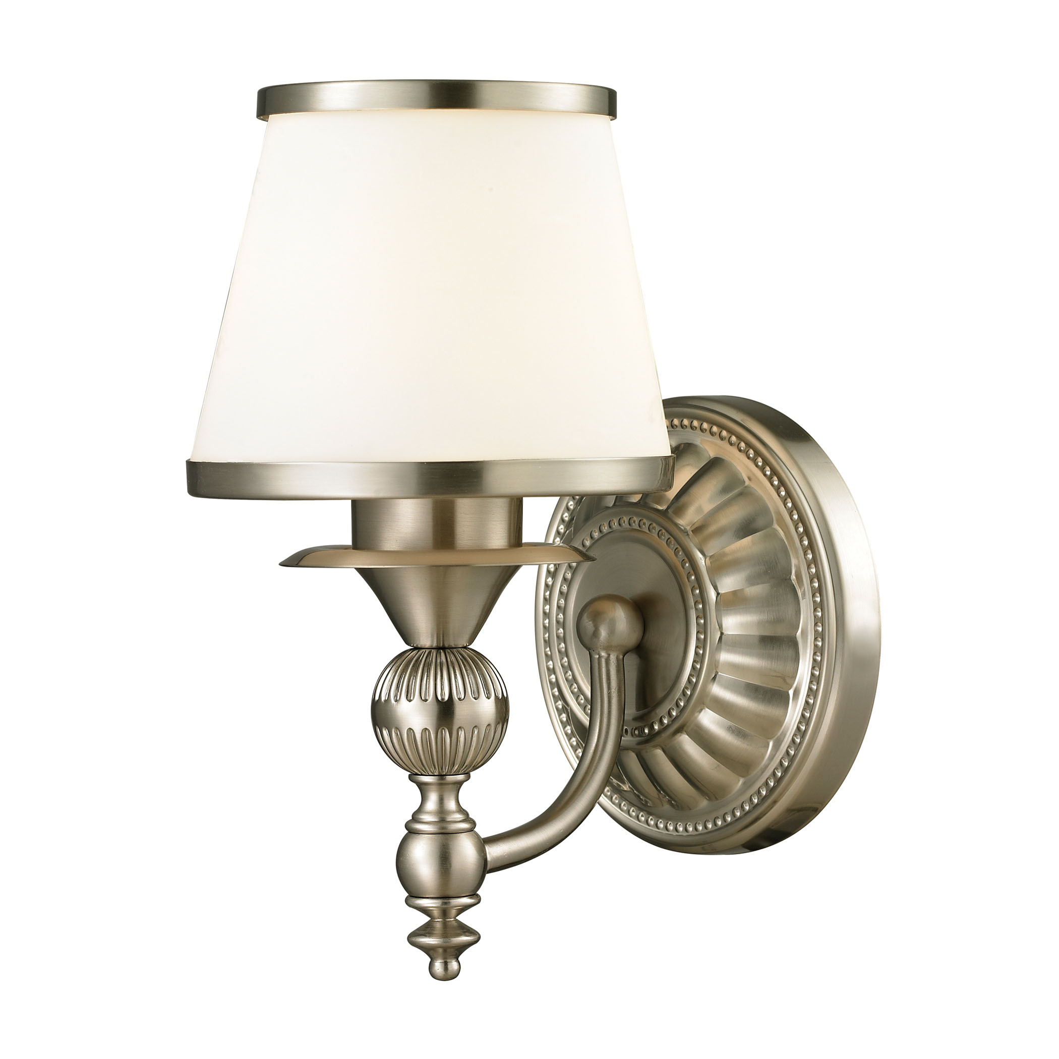 Smithfield Collection 1 Light Bath in Brushed Nickel