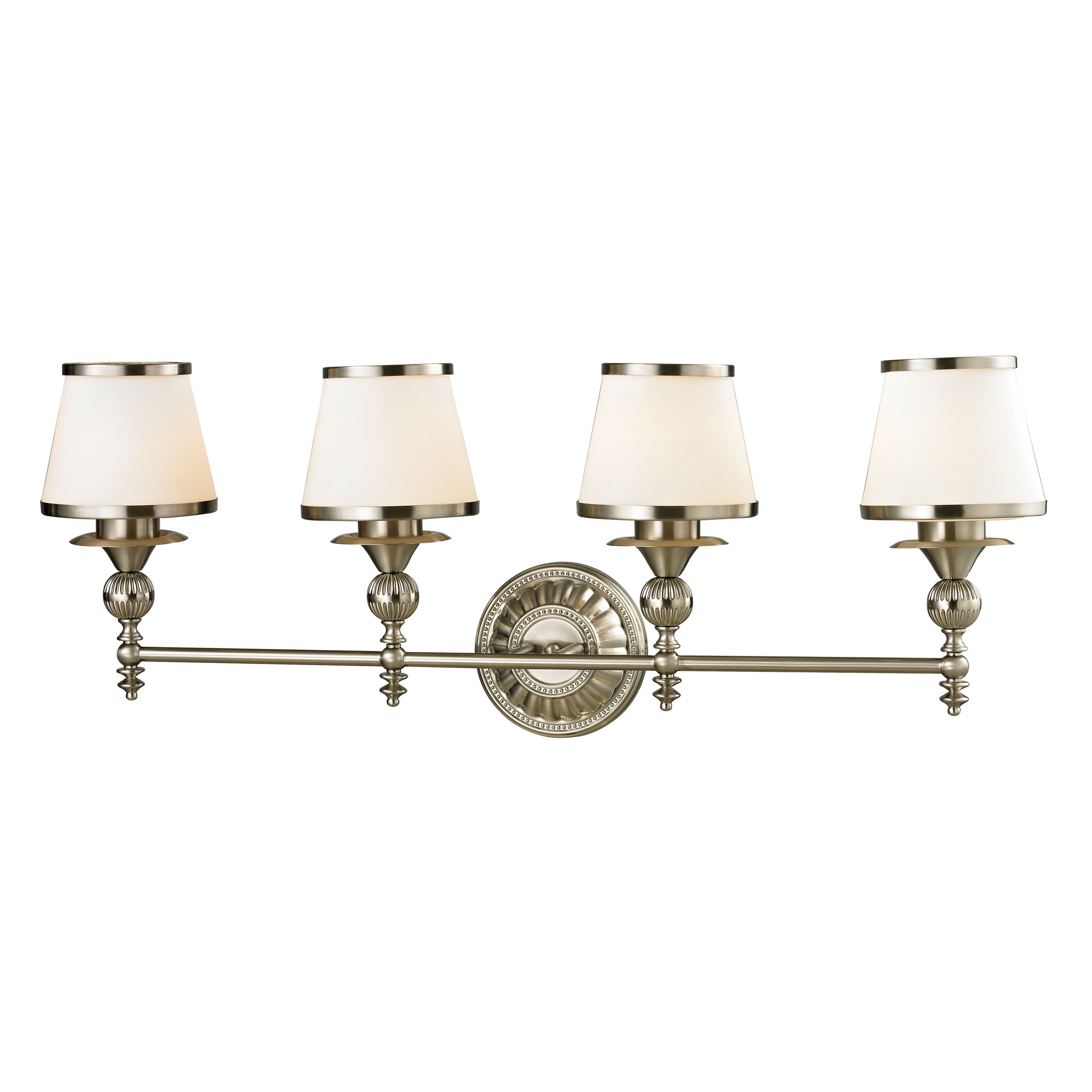 Smithfield Collection 4 Light Bath in Brushed Nickel