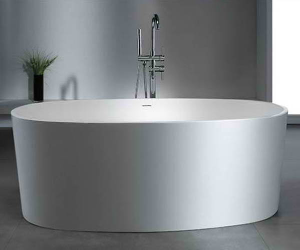 Whirlpools 32 x 62 Artificial Stone Freestanding Bathtub