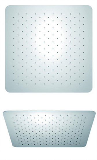 """10"""" Square Stainless Steel Shower Head in Chrome"""