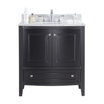 "32"" Bathroom Vanity Cabinet with Top and Color Options"
