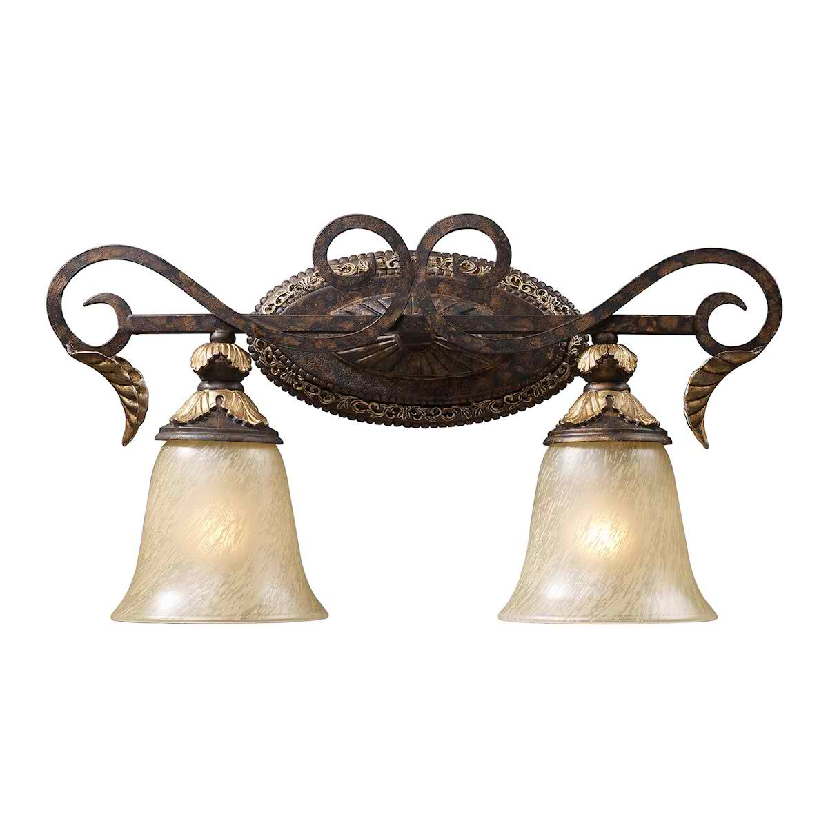 Regency 2-Light in Burnt Bronze