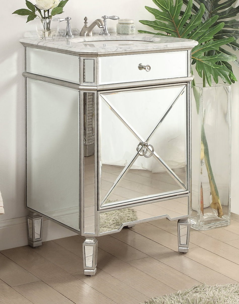"Adelina 24"" Asger Powder Room Bathroom Vanity"