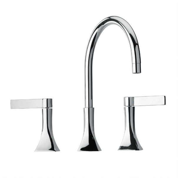 """8"""" Widespread Lavatory Faucet in Chrome"""