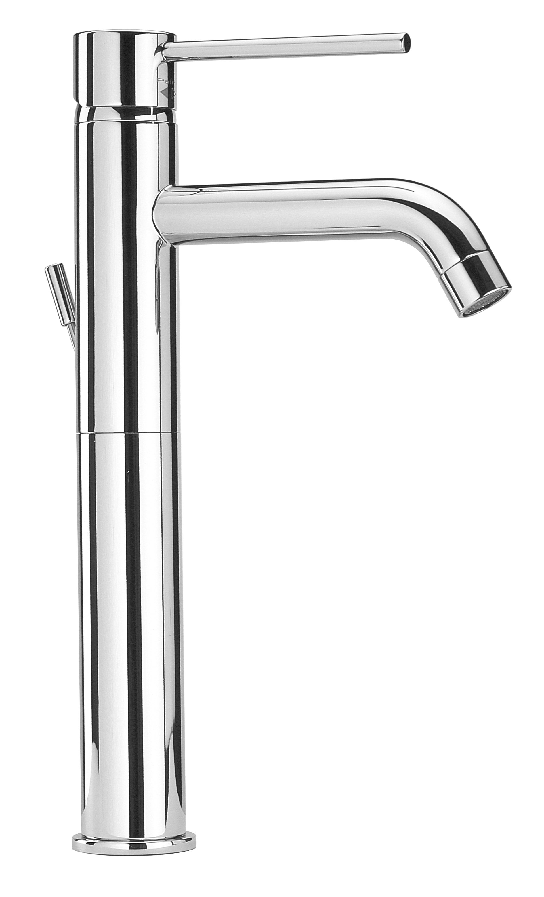 Long Single Handle Lavatory Faucet in Chrome