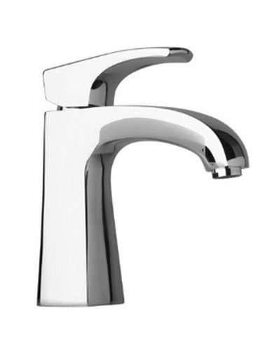 Small Single Handle Lavatory Faucet in Chrome