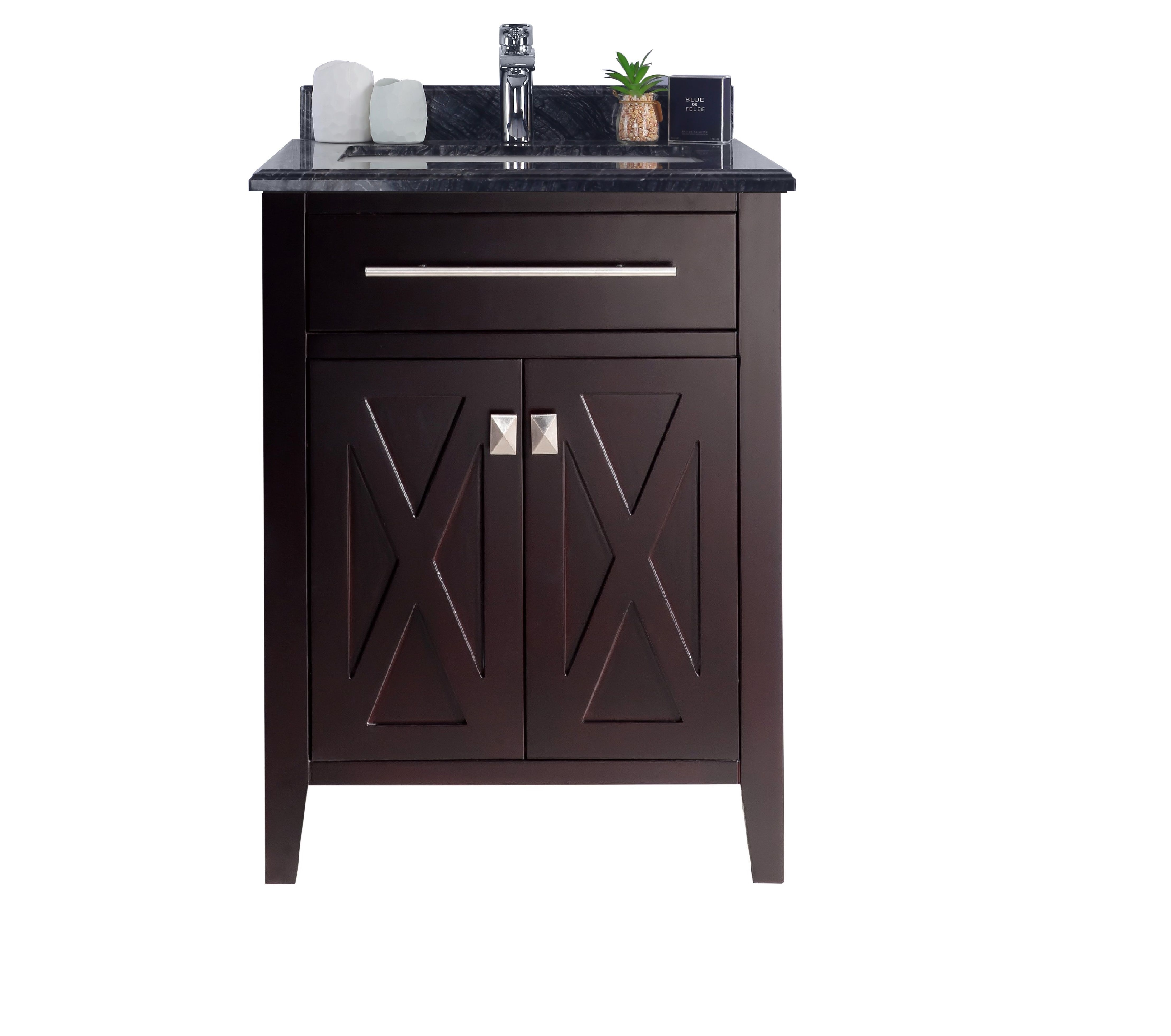 "24"" Single Sink Bathroom Cabinet + Top and Color Options"