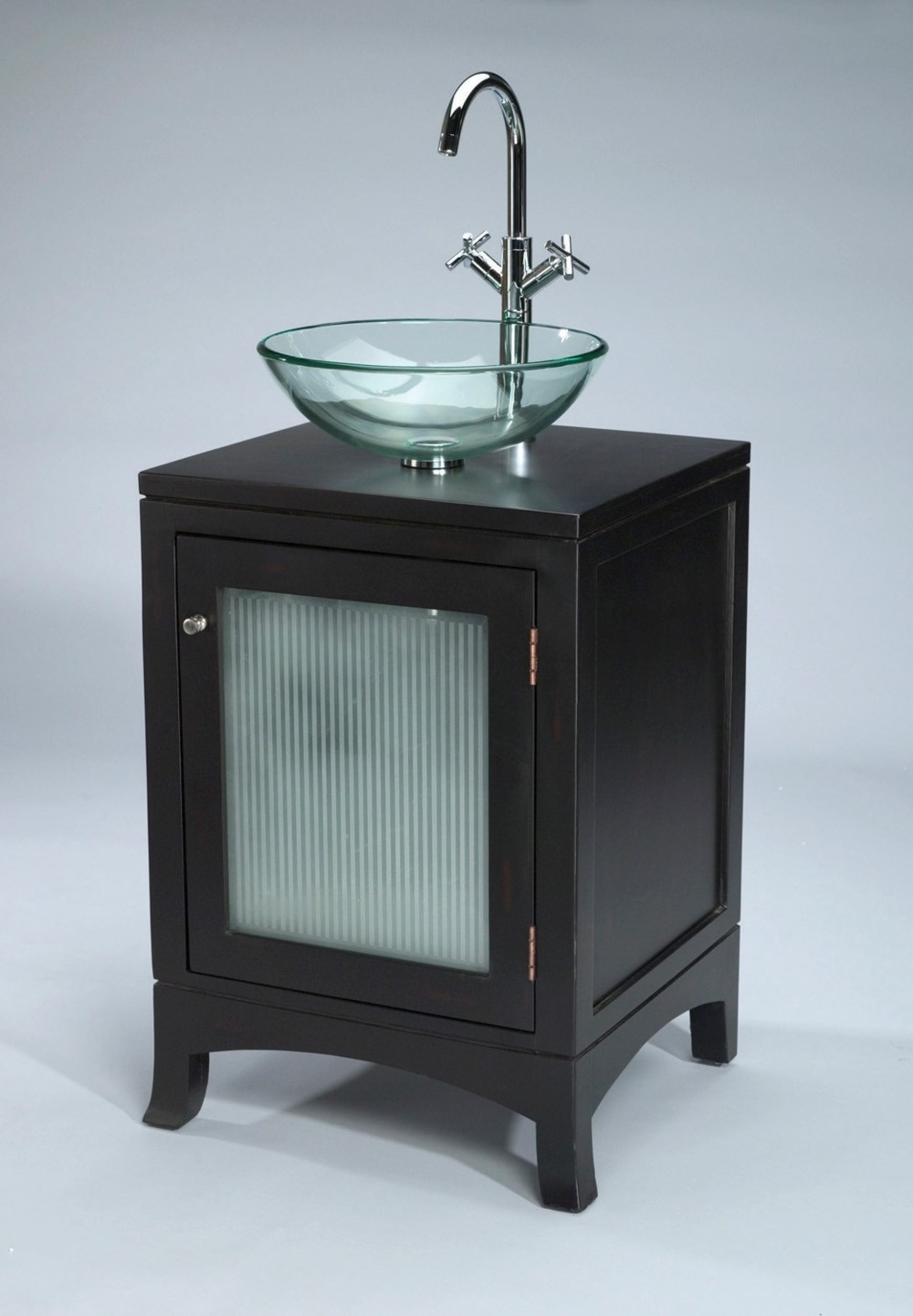 Antique Elements Collection Vanity with BOWL Black Finish
