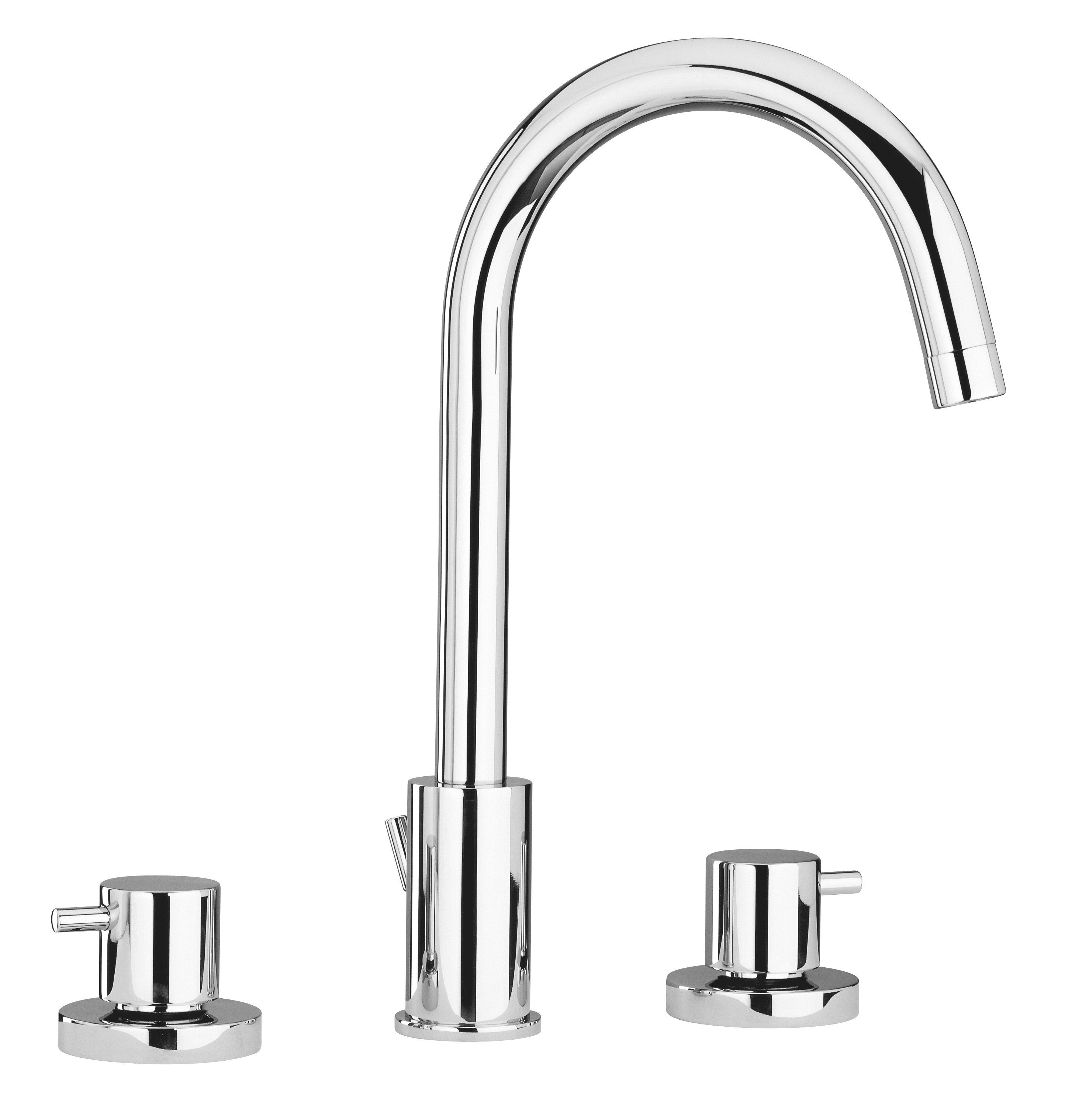 Widespread Lavatory Faucet in Chrome Finish
