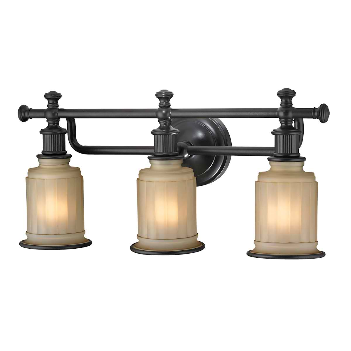 Acadia Collection 3 Light Bath in Oil Rubbed Bronze