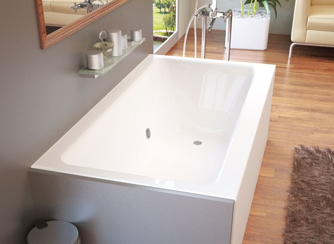 Whirlpools 30 x 60 Front Skirted Tub
