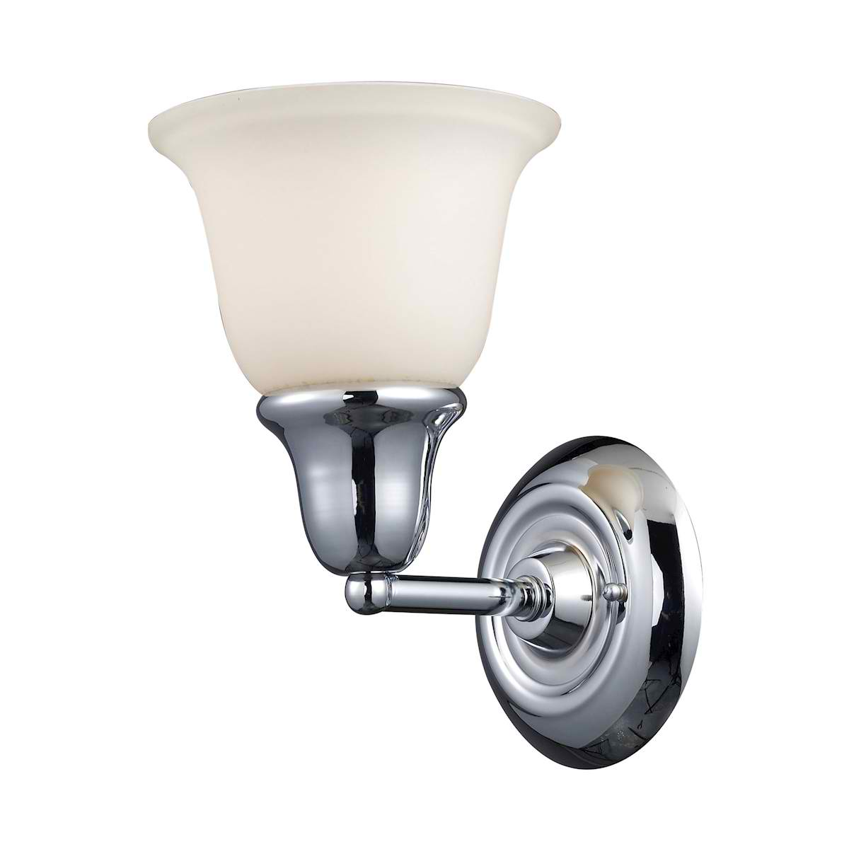 Berwick 1-Light Sconce in Polished Chrome