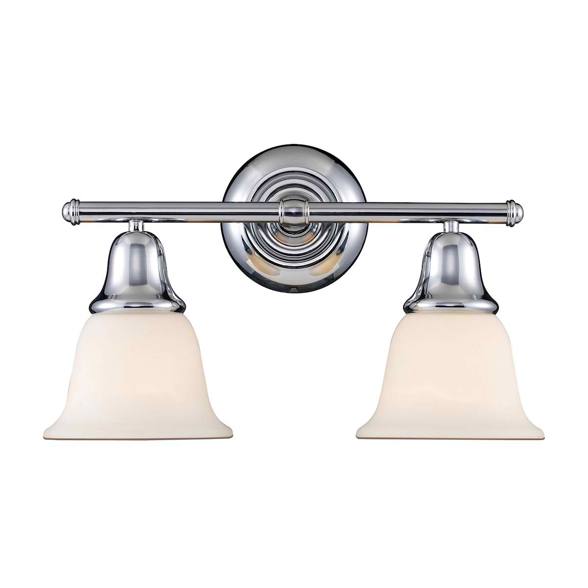Berwick 2-Light Sconce in Polished Chrome