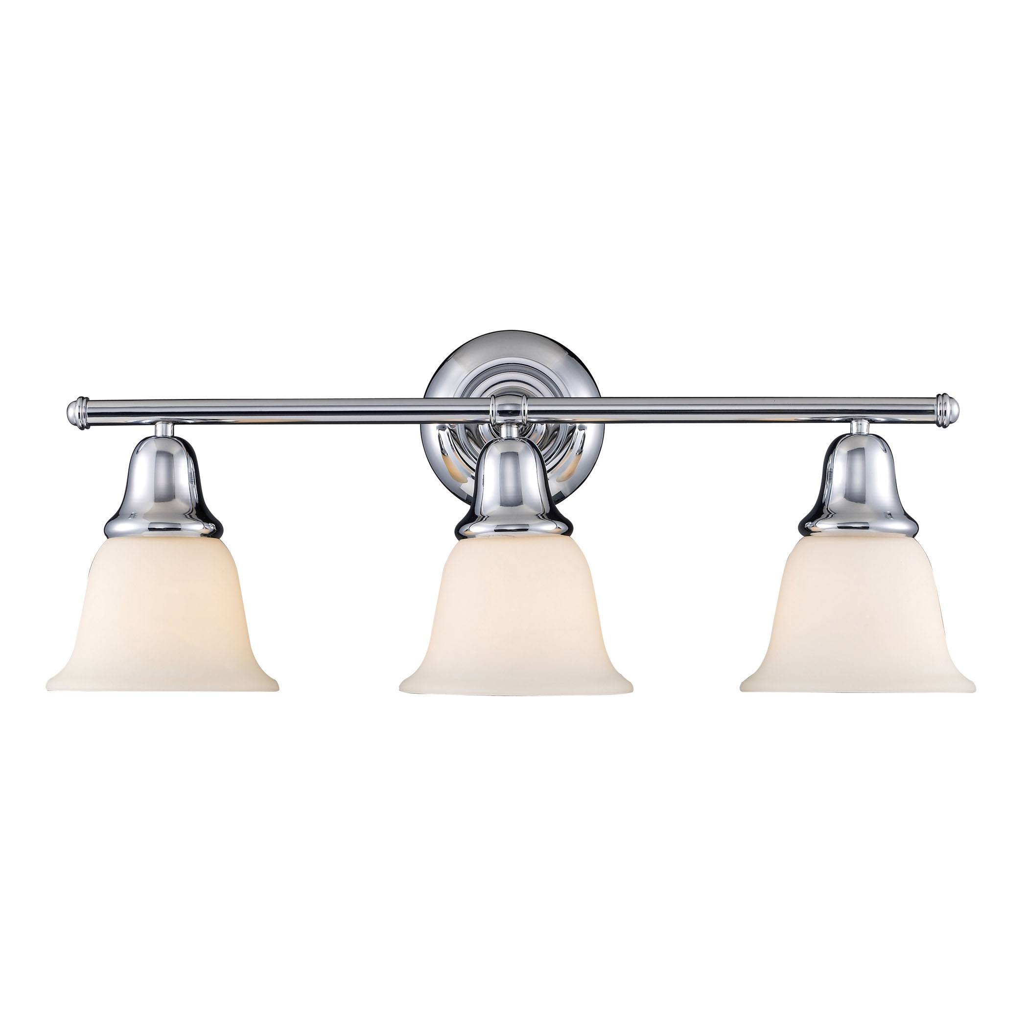 Berwick 3-Light Sconce in Polished Chrome