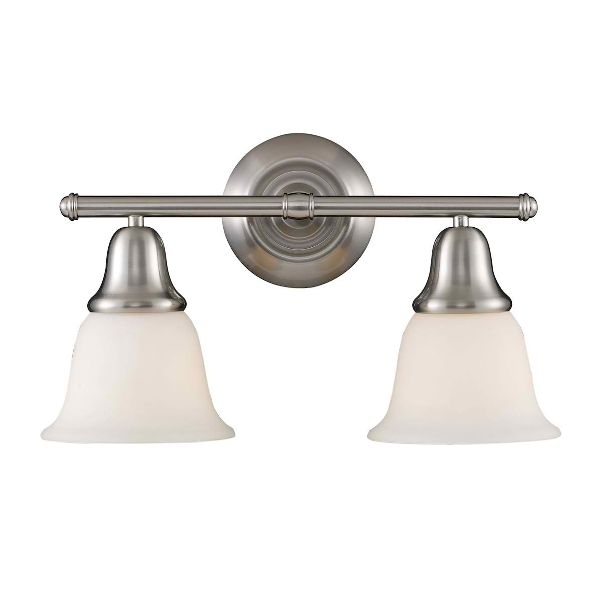 Berwick 2-Light Sconce in Brushed Nickel