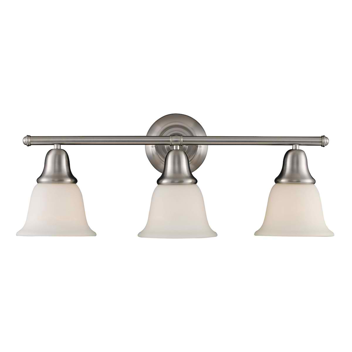 Berwick 3-Light Sconce in Brushed Nickel
