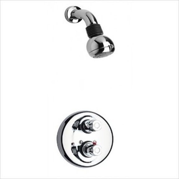 Thermostatic Shower With 2-Way Diverter Volume Control and Slide Bar in 2 Color Options