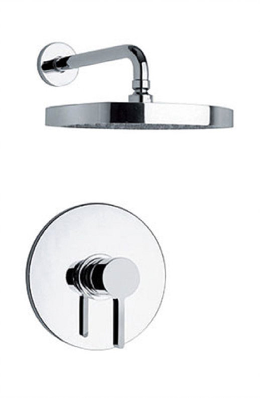 Pressure Balance Shower Set in Chrome Finish