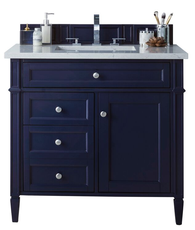 "James Martin Brittany Collection 36"" Single Vanity, Victory Blue"