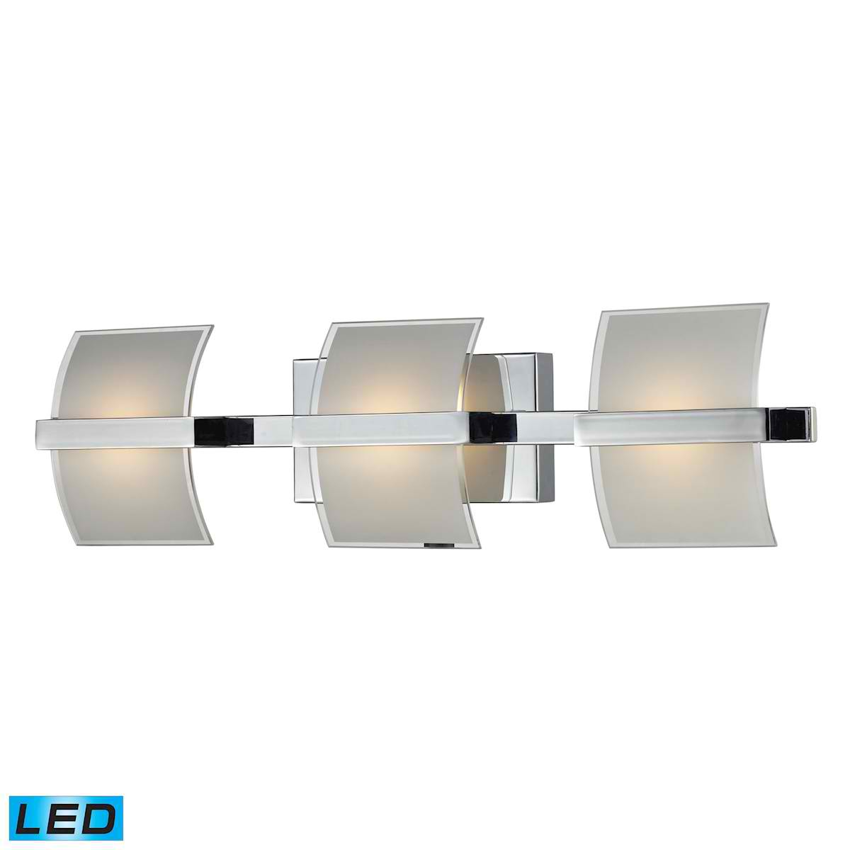 LED 3 5W Glass Wall Lamp