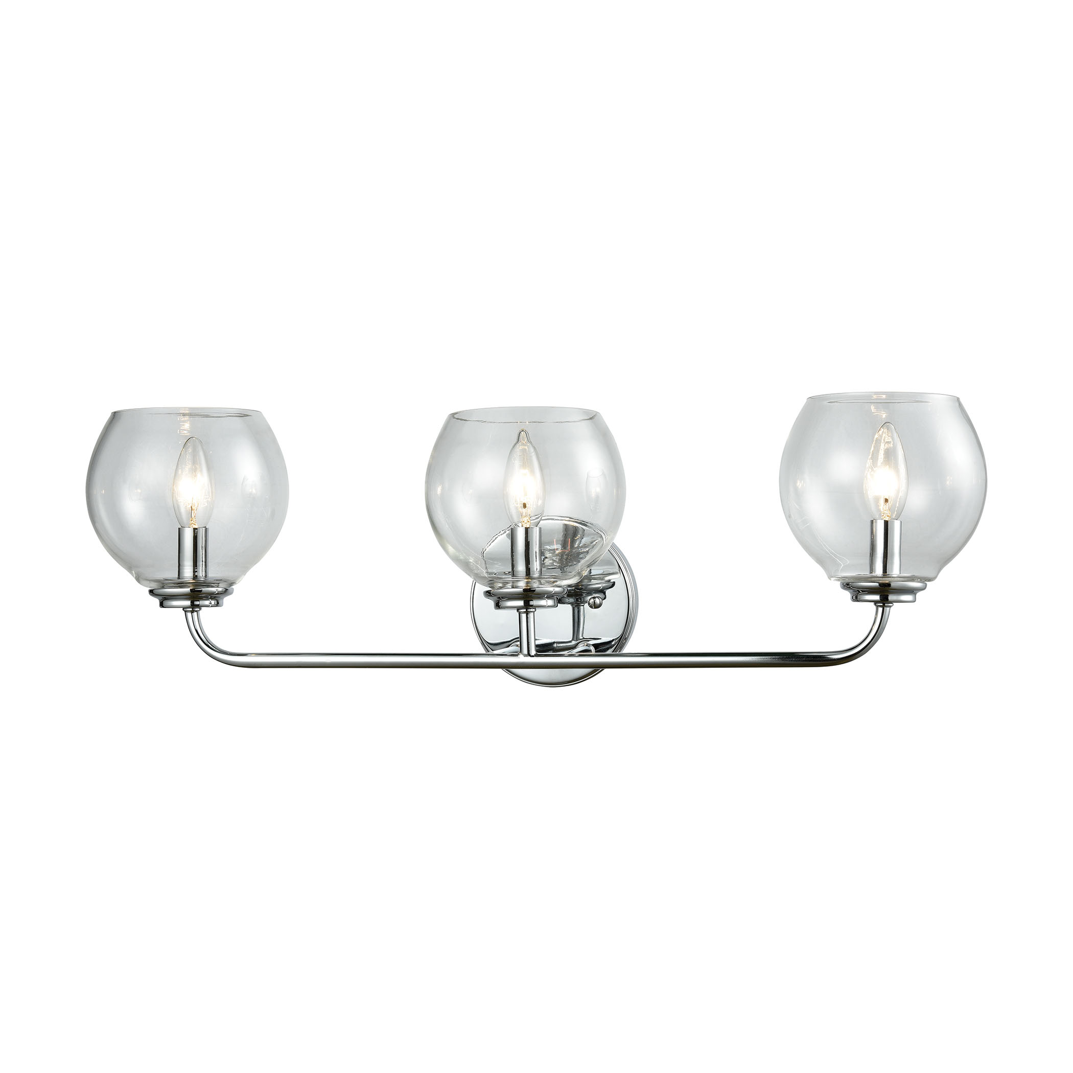 Emory 3 Vanity Polished Chrome