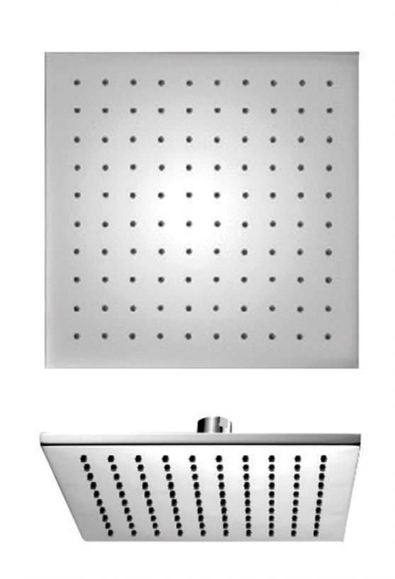"""12"""" Square Brass Showerhead Only in Chrome"""