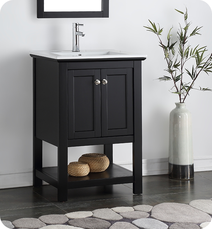 "24"" Traditional Bathroom Vanity with Color Options"