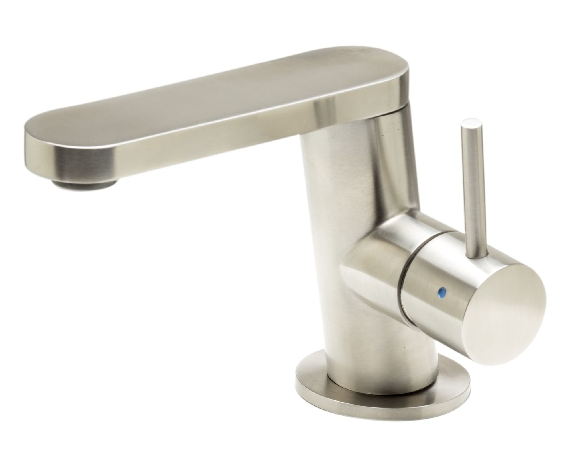 ALFI Brand AB1010 Ultra Modern Polished or Brushed Stainless Steel Bathroom Faucet