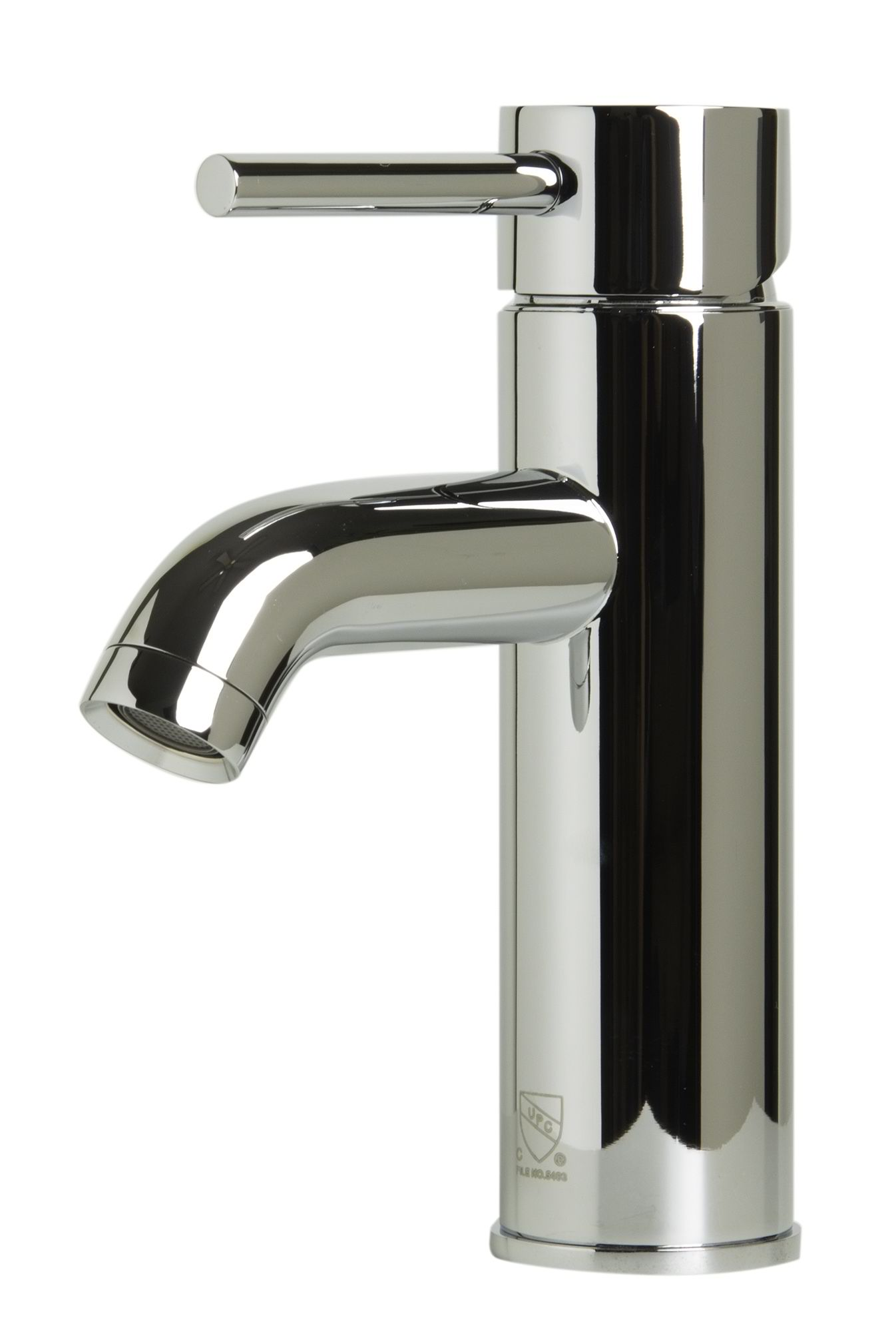 ALFI Brand AB1433 Brushed Nickel or Polished Chrome Single Lever Bathroom Faucet