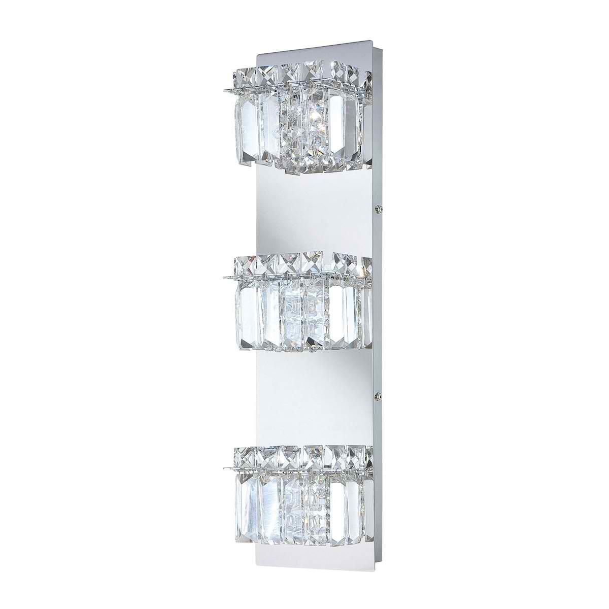 Crown 3 Lamp Vertical Vanity