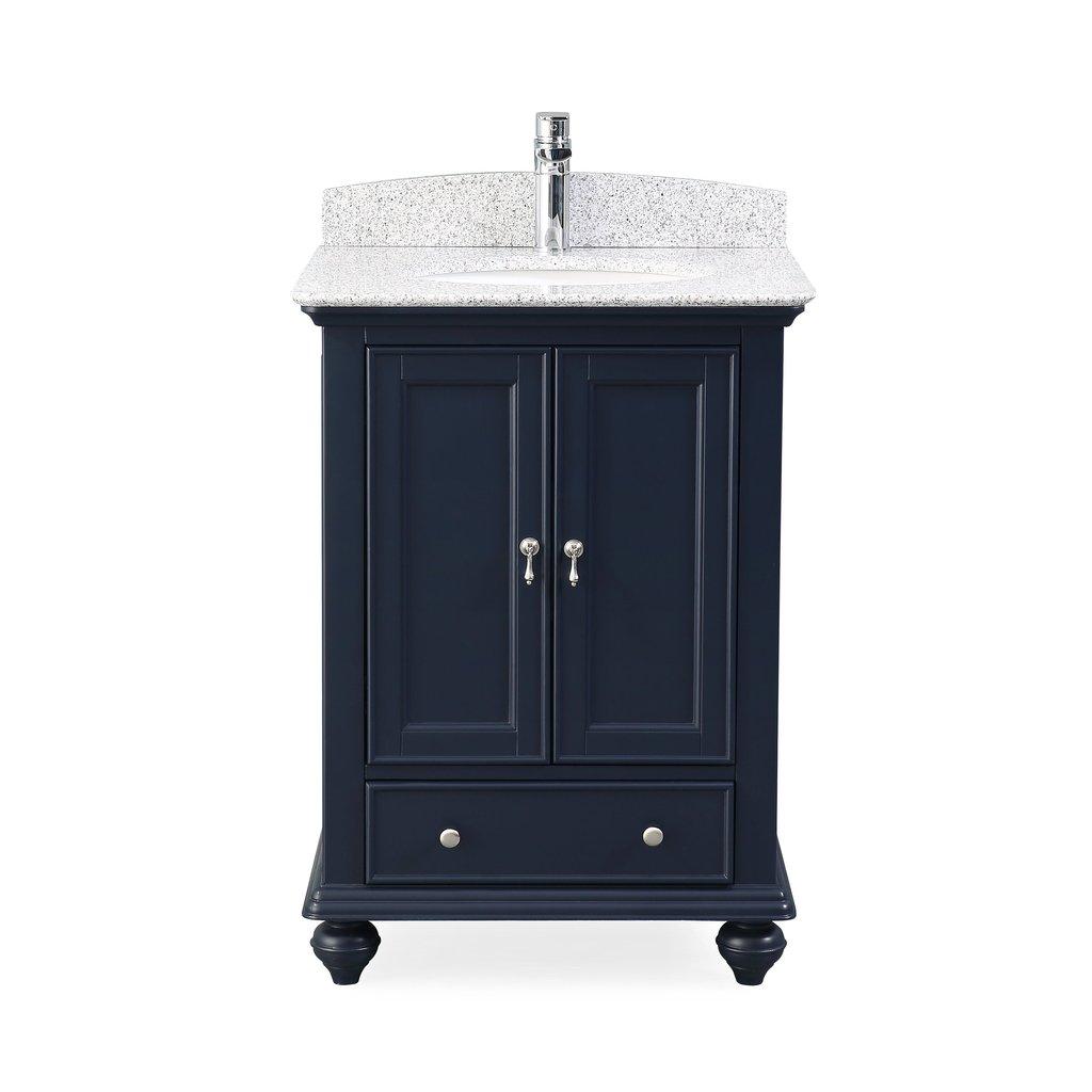 "Adelina 25"" Tennant Brand Gillian Powder Room Bathroom Sink Vanity with 4 Color Options"