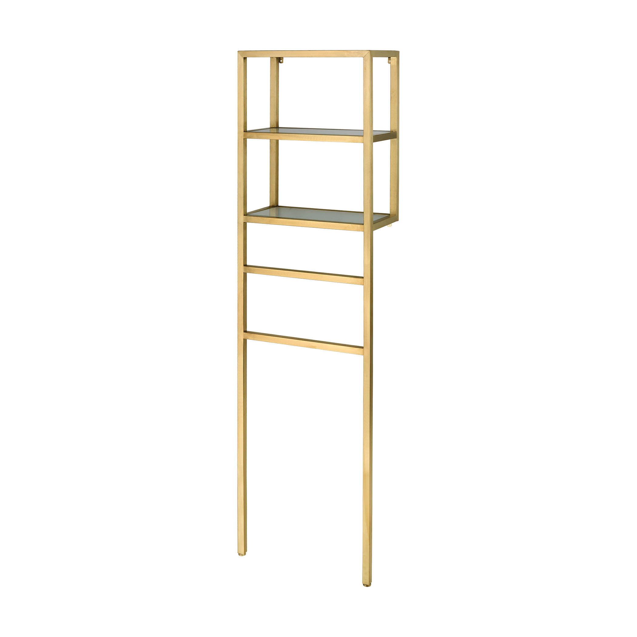 Nelson Console Satin Gold Finish