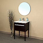 Bella 26 inch Cherry Finish Single Sink Bathroom Vanity