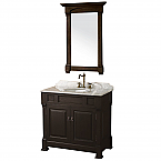 "Andover 36"" Bathroom Vanity Wyndham Collection"