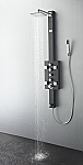 Art Lecco Stainless Steel (Brushed Gray) Thermostatic Shower Massage Panel