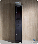 """Fresca Oxford 14"""" Tall Linen Side Cabinet Espresso Finish"""