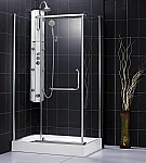 DreamLine Panorama Shower Enclosure SHEN-1131458 Chrome