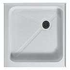 """Vigo Square Shower Tray White Available 36"""" x 36"""""""