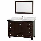 "Accmilan 48"" Espresso Bathroom Vanity Set"