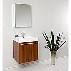 Alto 23 inch Teak Modern Bathroom Vanity