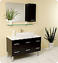 43 inch Espresso Modern Bathroom Vanity