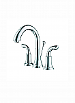Accanto Widespread 2 Handles Transitional Bathroom Faucet