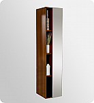 67 inch Teak Bathroom Linen Side Cabinet