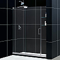 "DreamLine MIRAGE 60"" x 72""Frameless Sliding Shower Door"