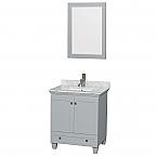 Accmilan 30 inch Single Bathroom Vanity in Grey Finish