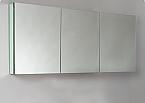 Contempo 60 inch Wide Bathroom Medicine Cabinet with Mirrors