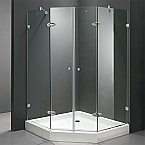 "Vigo 42"" x 42"" Neo-Angle Shower Door"