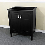 Bella 29 Inch Espresso Finish Vanity Base Only