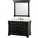 "Andover 48"" Bathroom Vanity Wyndham Collection"