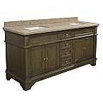 ADF Exclusive 72 inch Stone Top Double Sink Bathroom Vanity